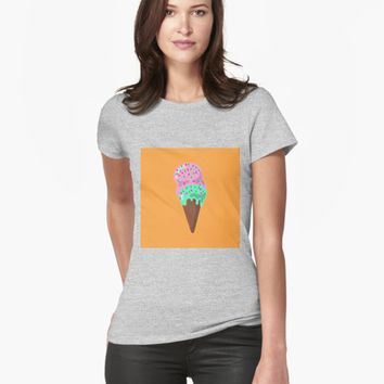 'Ice Cream' T-shirt by VibrantVibe