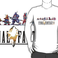Final Fantasy IX Sprites and Logo