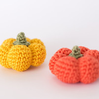 Pumpkin Halloween Amigurumi Toy - Crochet Pumpkin Halloween, Halloween Pumpkin Toy Plush, Pumpkin Stuffed Toy, Halloween Decor