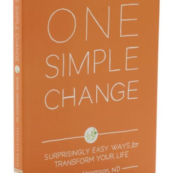 One Simple Change