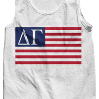 Delta Gamma USA Tank Top