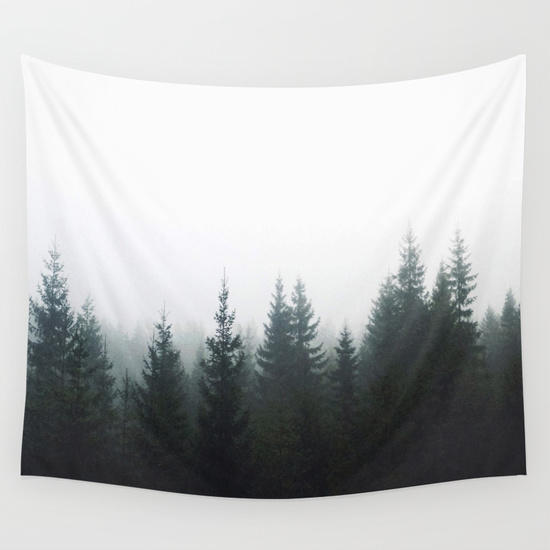Forest Wall Tapestry by Kjellin from Society6 | Tapestry