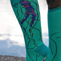 Socks by Sock Dreams » Sock It To Me Jellyfish Knee High