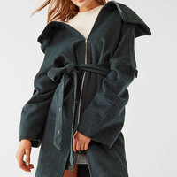 House Of Sunny Upscale Belted Coat | Urban Outfitters