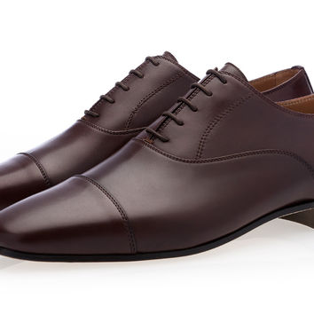 HECTOR NAPPA COCOA LACE-UP