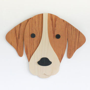 Dog Wall Art. Dog Lover Gift. Nursery Decor. Kids Room Decor Art. Wooden Dog Art. Animal art. Nursery Decor. Wooden Sign. Baby Gift