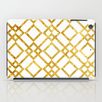 Golden Screen iPad Case by Miss L In Art