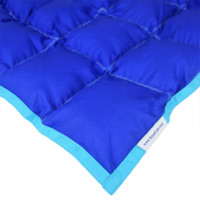 SensaCalm Dazzling Blue w/ Scuba Blue - Adult 14 lb Weighted Blanket