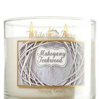 14.5 oz. 3-Wick Candle Mahogany Teakwood