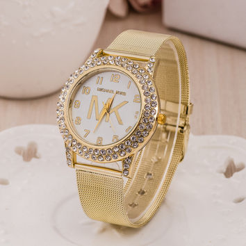 Hot Vintage Fashion Quartz Classic Watch Round Ladies Women Men wristwatch On Sales = 4673087620