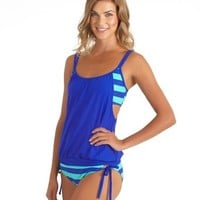 NEXT Swimwear l Tankini Top l Retro Bikini Bottom l SwimSpot