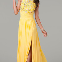 Sleeveless Floor Length Dress