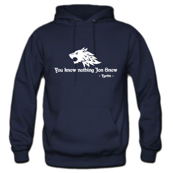 You know nothing Jon Snow (Game of Thrones) Hoodie