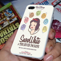 Snow White and The Seven Dwarfs Case for iPhone 4/4S iPhone 5/5S/5C and Samsung Galaxy S3/S4