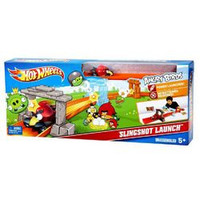Hot Wheels Angry Birds Slingshot Launch Play Set