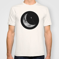 Moon walker T-shirt by Tony Vazquez