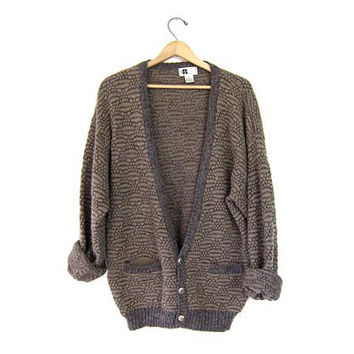 Oversized Slouchy Cardigan Sweater from Dirty Birdies Vintage