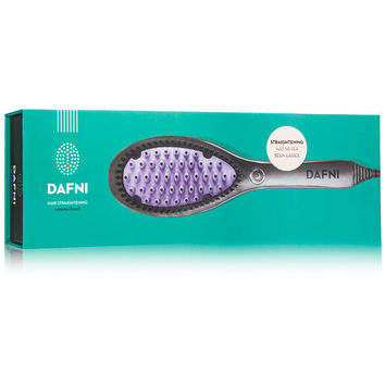 DAFNI Hair Straightening Ceramic Brush - DermStore