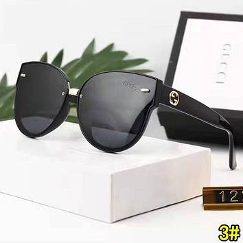 GUCCI Popular Woman Men Fashion Shades Eyeglasses Glasses Sunglasses 3#