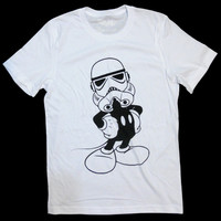 Star Wars - Mickey Mouse T-shirt 'Imperial Mickey' Unisex - by American Anarchy Brand