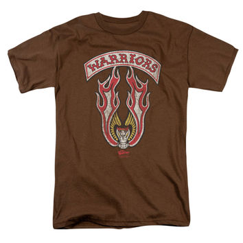 Warriors - Movie Men's  Emblem T-shirt Coffee Rockabilia