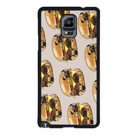 pugs burger case for samsung galaxy note 4 note 3 2