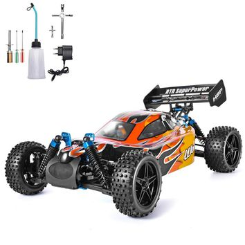 HSP RC Car 1:10 4wd Rc Toys Two Speed Off Road Buggy Racing Vehicle Nitro Gas Power 4x4 High Speed Hobby Remote Control Car