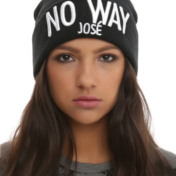 No Way Jose Watchman Beanie