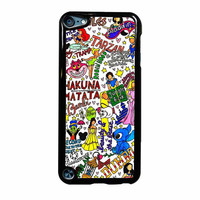 Disney Princess Collage Hakuna Matata iPod Touch 5th Generation Case