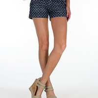 Miss Me Polka Dot Stretch Short