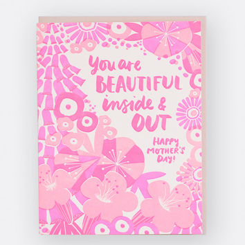 Beautiful Mom Mother's Day Card