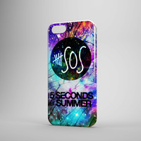 5 Sos Galaxy Nebula Cracked Out iPhone Case And Galaxy Case