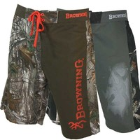 Browning Men's Tarn Camo Boardshort