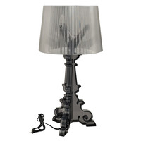 French Grand Table Lamp in Black