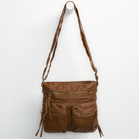 T-Shirt & Jeans Aline Crossbody Bag Cognac One Size For Women 25528140901