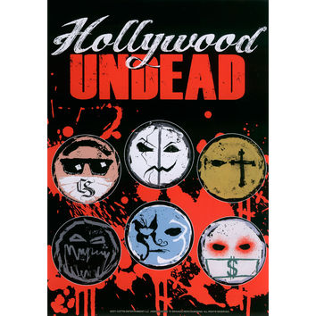 Hollywood Undead Sticker Set