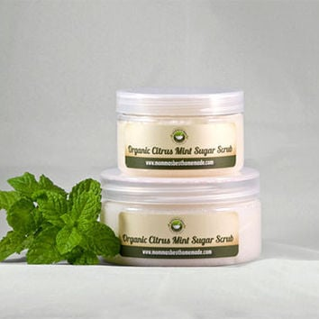 Organic Citrus Mint Body Scrub