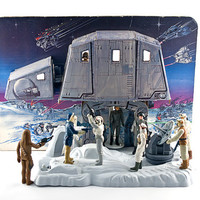Star Wars Hoth Ice Planet Adventure Playset, Complete, 1980