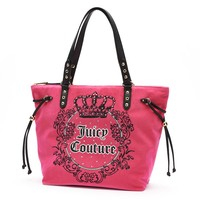 Juicy Couture Logo Sport Tote (Pink)