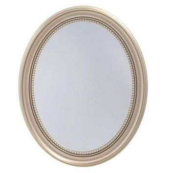 Pegasus 24 in. x 29 in. Recessed or Surface Mount Mirrored Medicine Cabinet in Gold-SP4593 - The Home Depot