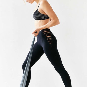 Blue Life Fit Strappy High-Waist Legging from Urban Outfitters