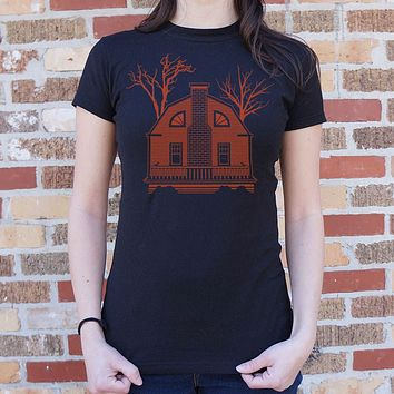Ladies House Of Horrors T-Shirt