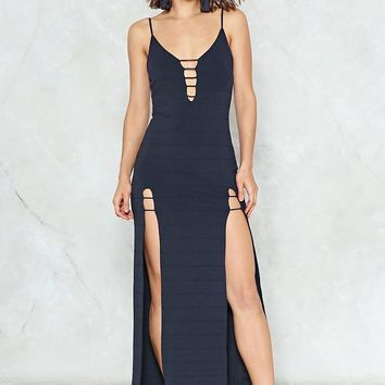 Split the Difference Maxi Dress