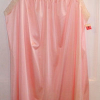 Vintage JC Penney Pink Nightgown Size Medium New