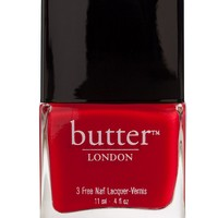 butter LONDON 3 Free Nail Lacquer - Come to Bed Red - butter LONDON - Beauty - Macy's