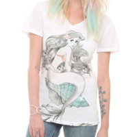 Disney The Little Mermaid Ariel Shell Girls T-Shirt