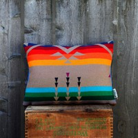 Rainbow Bird Pillow | BRIKA - A Well-Crafted Life