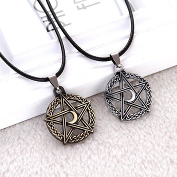 Tree Of Life Moon Necklaces Protection Star Goddess Magic Supernatural Amulet