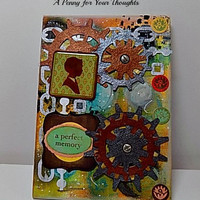 A Perfect Memory Mixed Media Canvas Board Ready to Ship
