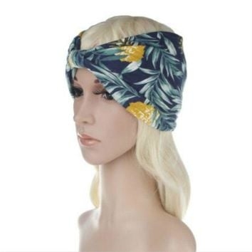 c9eb8c9e1fc 2018 NEW 10pcs lot Women Turban Twist Bandanas Headband Head Wra